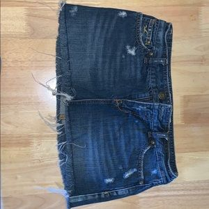Mini skirt size 1 hollister